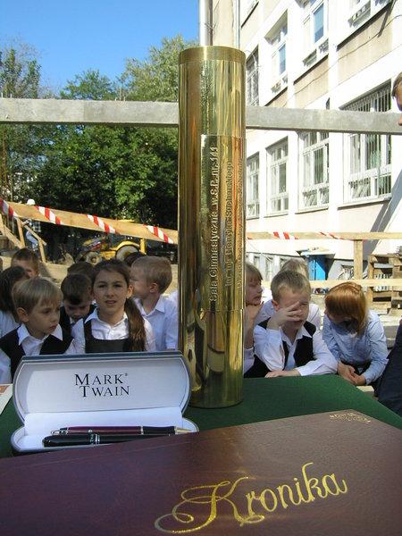 Dzieci ze szkoły przy Szaserów otrzymają nową salę gimnastyczną