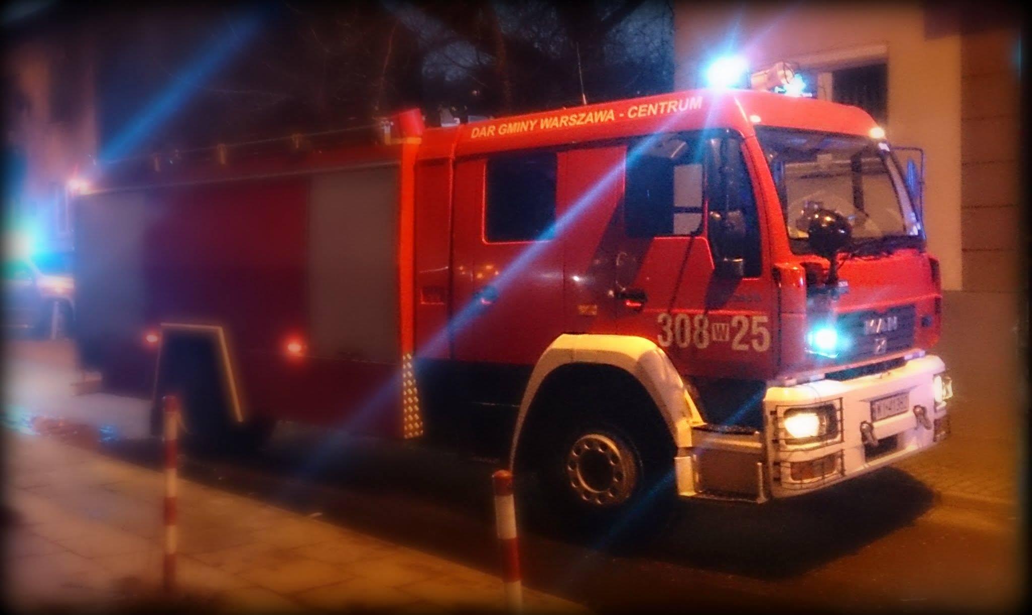 Pożar samochodu przy Osowskiej