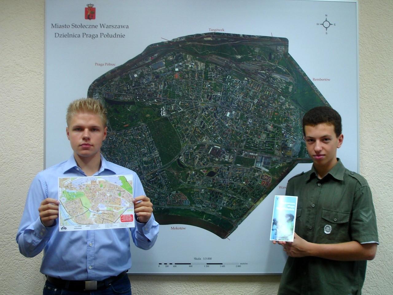 Praska Mapa Rowerowa