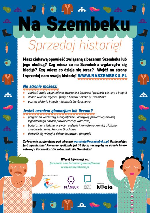 Na Szembeku - sprzedaj opowieść związaną z bazerem Szembeka