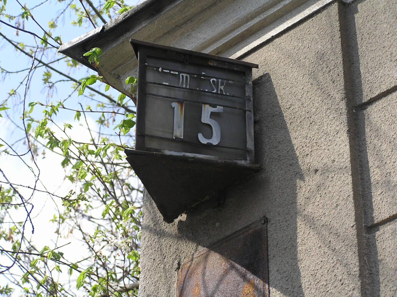 Latarenka adresowa - Hetmańska 15