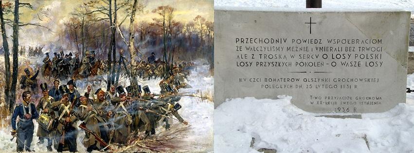 Wycieczka: Bitwa pod Olszynką i Dworek Grochowski