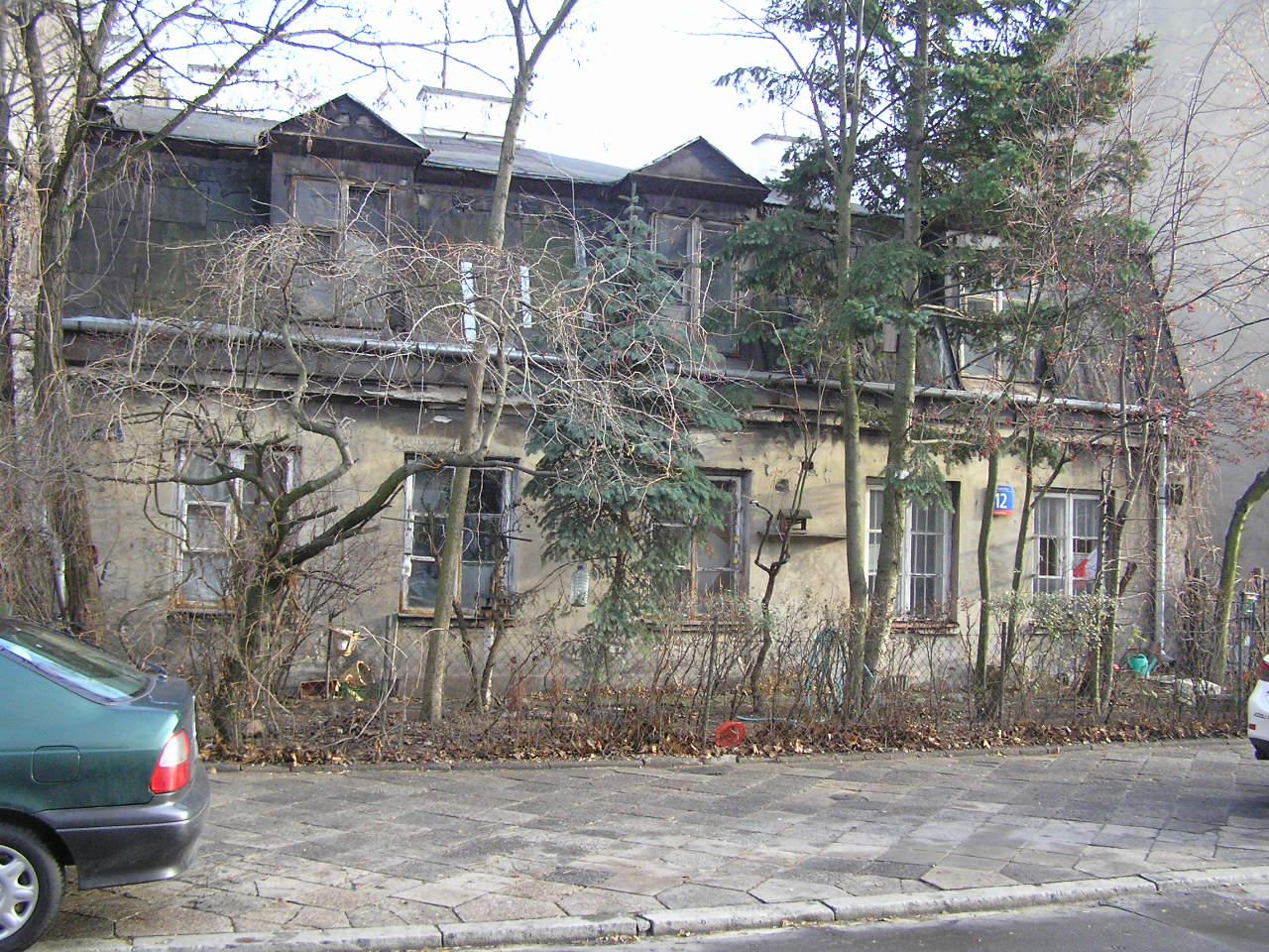 Zabytkowy dom przy ulicy Kaleńskiej 12 na Grochowie