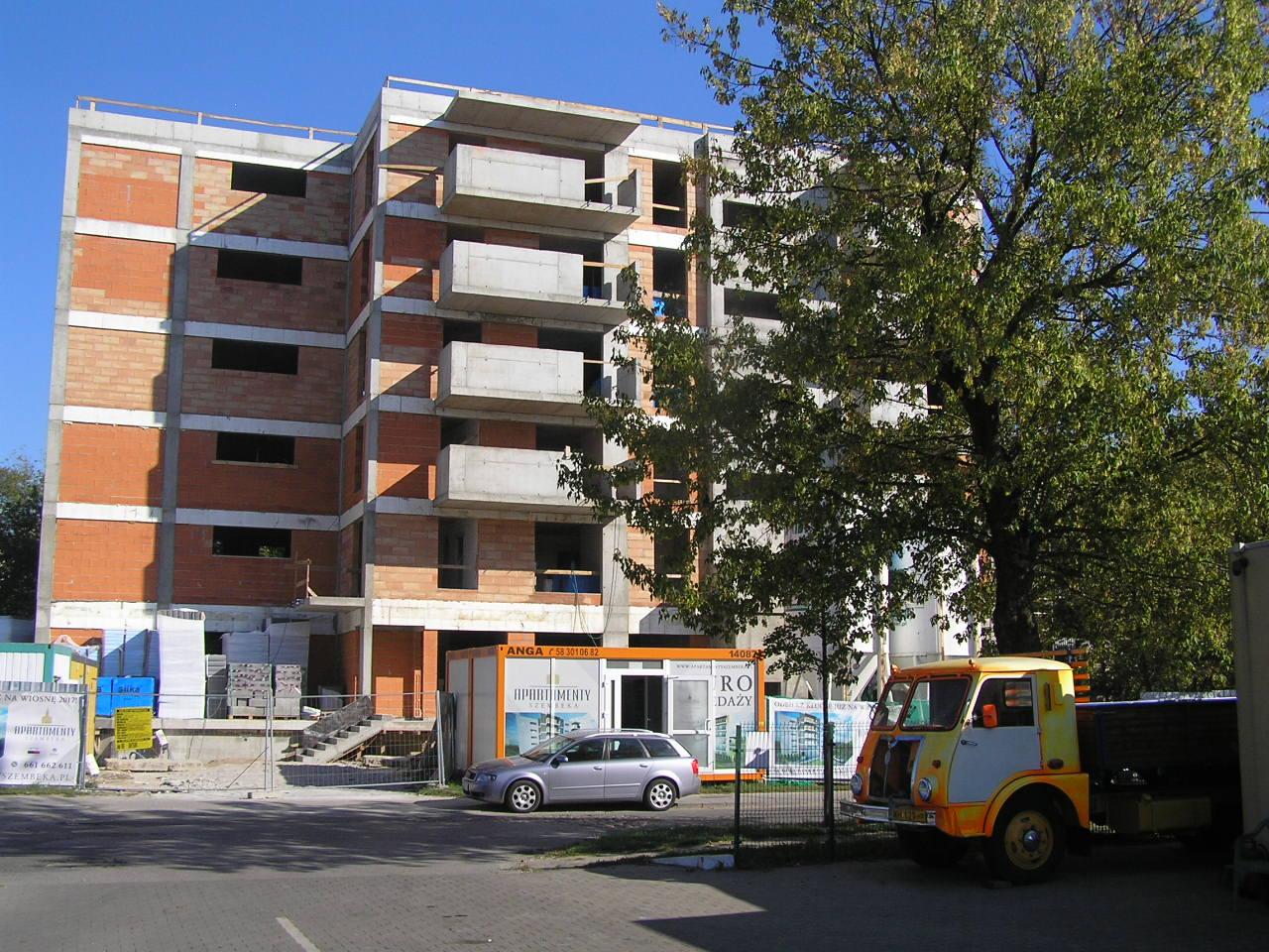 Apartamenty Szembeka - nowa inwestycja w centrum Grochowa