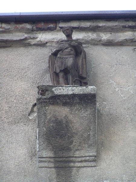 Figura św. Ekspedyta - Chłopickiego 34