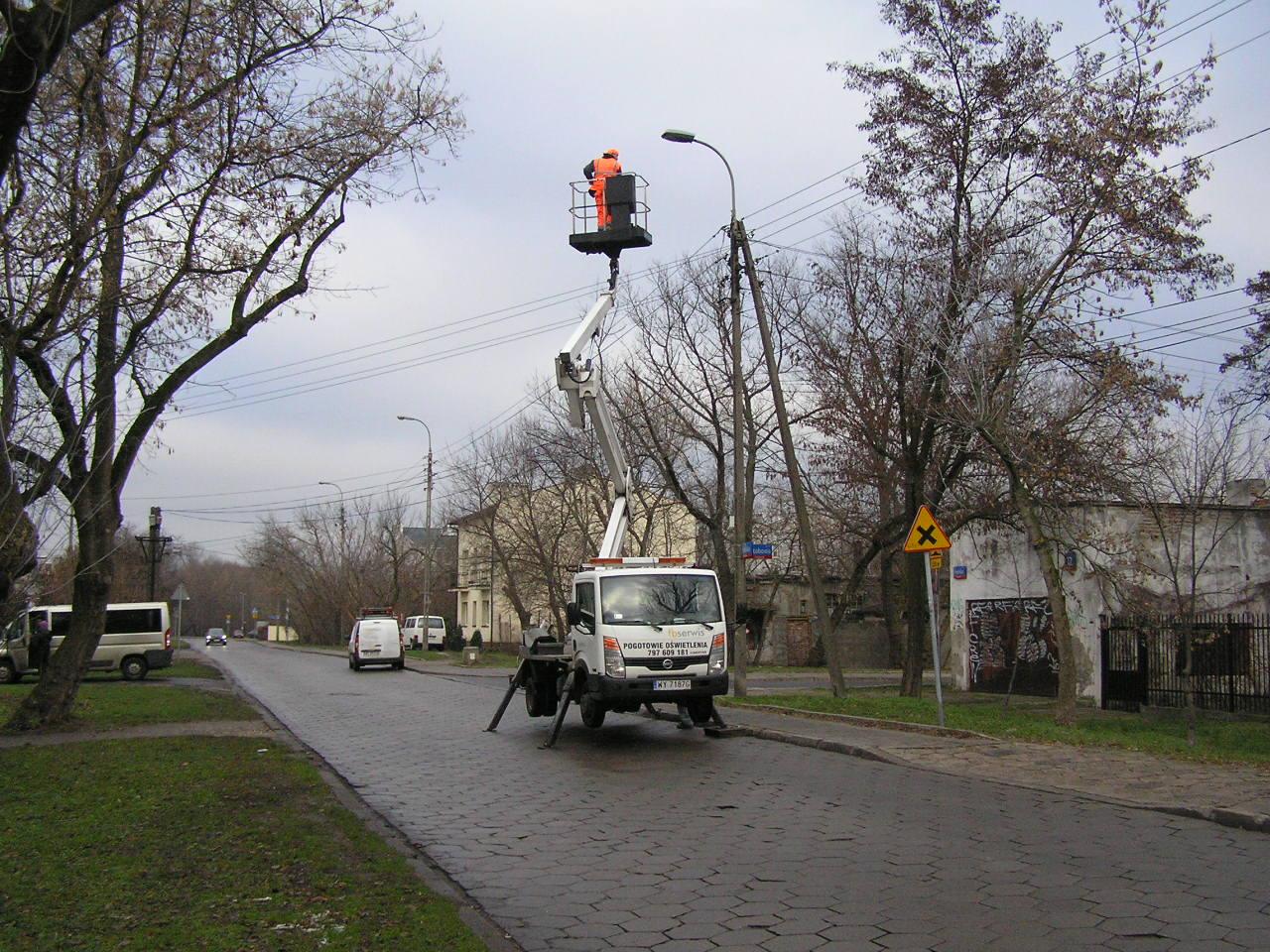 Światła LED-owe poprawią bezpieczeństwo na Podolskiej