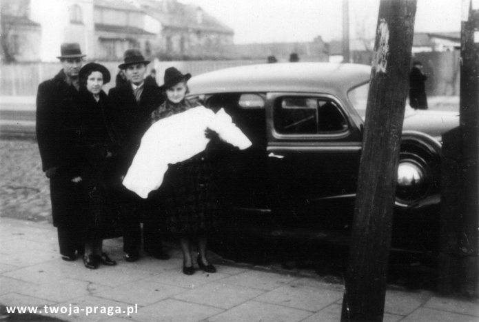 Ulica Grochowska w 1938 roku