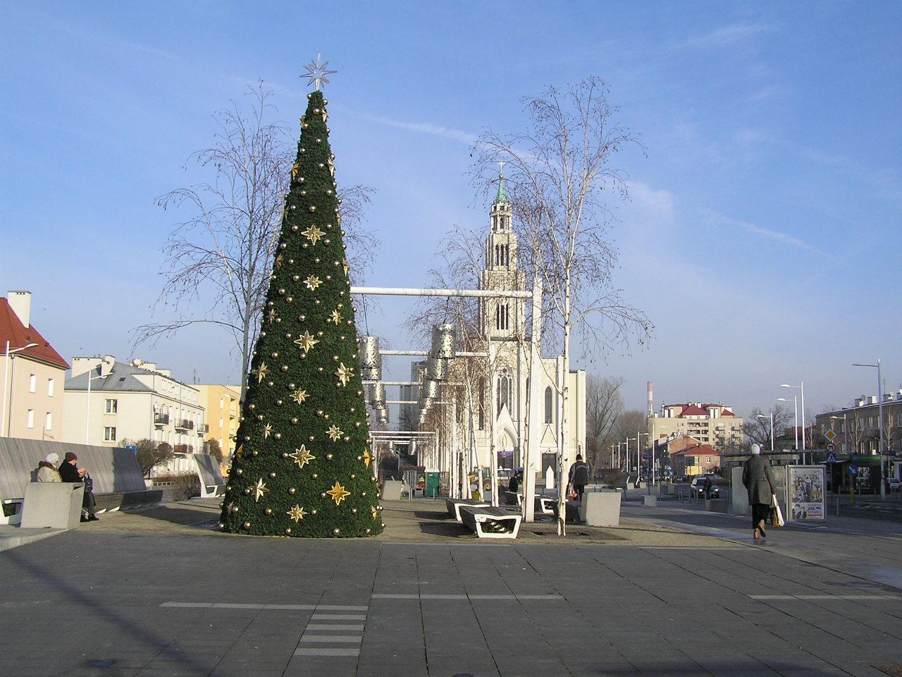 Koncert bożonarodzeniowy na Placu Szembeka