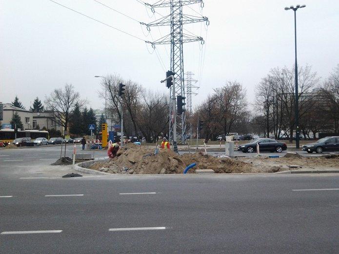 Na skrzyżowaniu przy Ostrobramskiej będzie komplet przejść dla pieszych