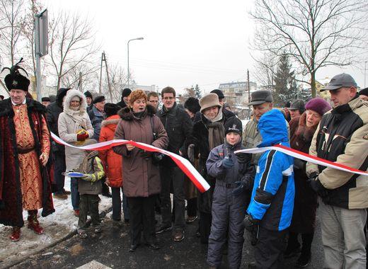 Nowy odcinek ulicy Makowskiej otwarty po przebudowie