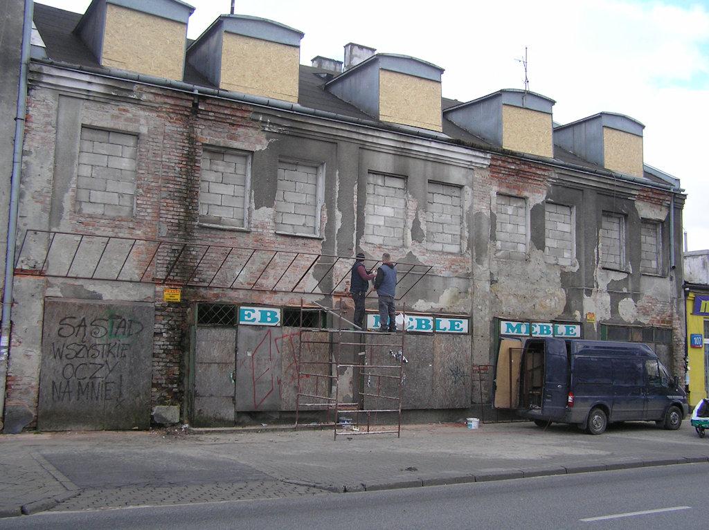 Kamienica przy Grochowskiej 105 została zabezpieczona