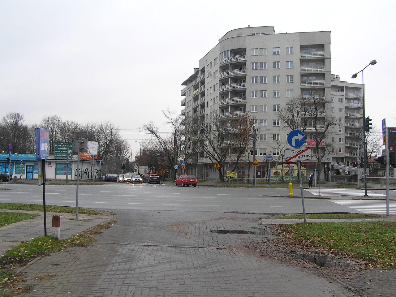 Potrącenie na Grochowskiej przy Podolskiej