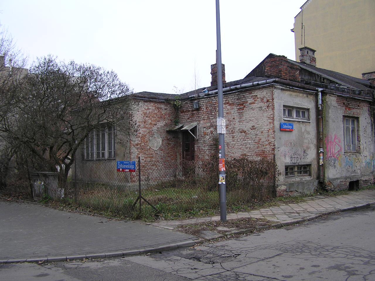 Dom przy ulicy Żółkiewskiego 7 na Grochowie