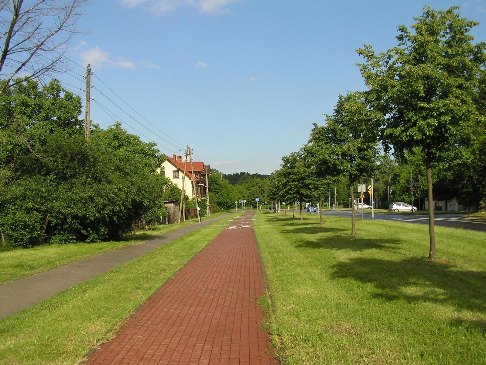 Budowa ulicy Szaserów została zakończona