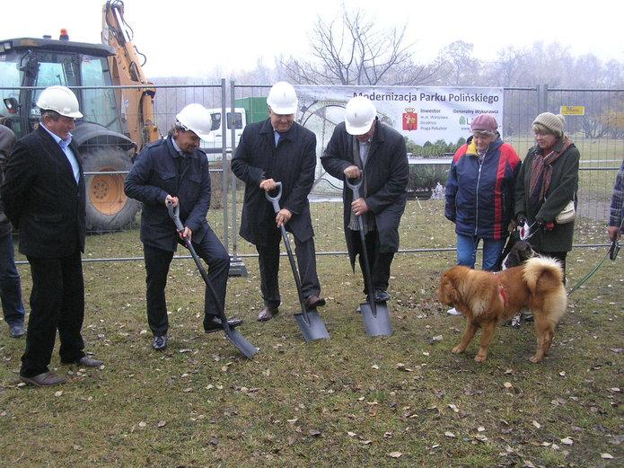 Początek modernizacji Parku Polińskiego