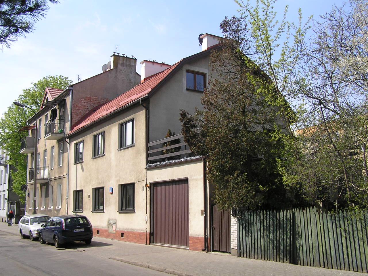 Dom przy ulicy Hetmańskiej 13 na Grochowie