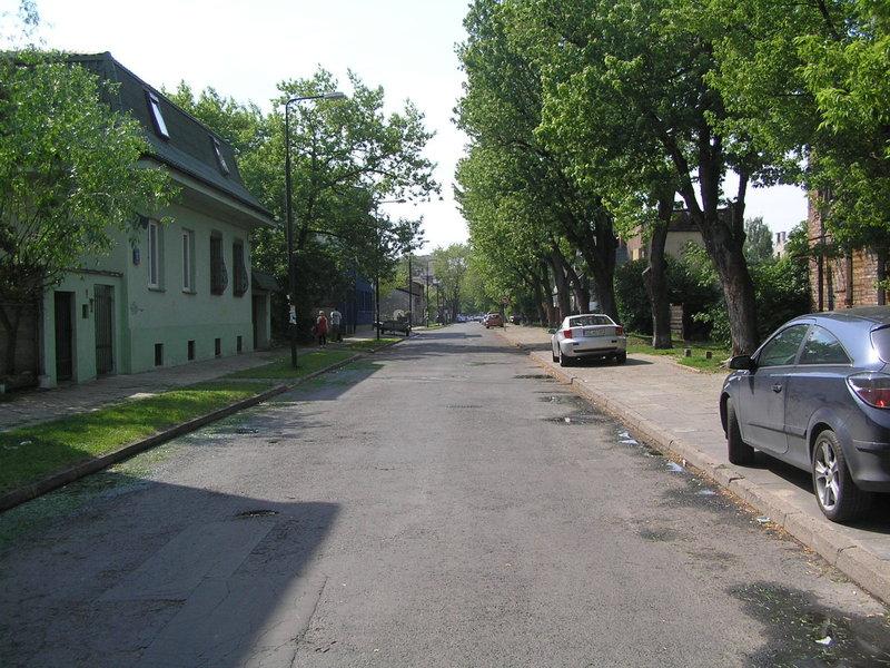Ulica Sulejkowska na Grochowie