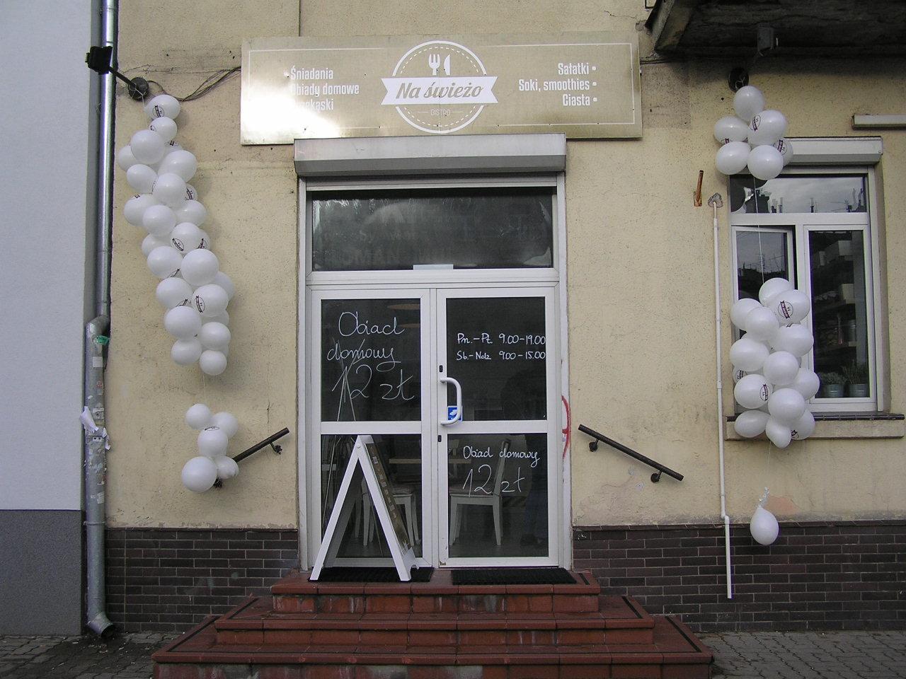 Bistro na Świeżo przy Grochowskiej 242 na Grochowie