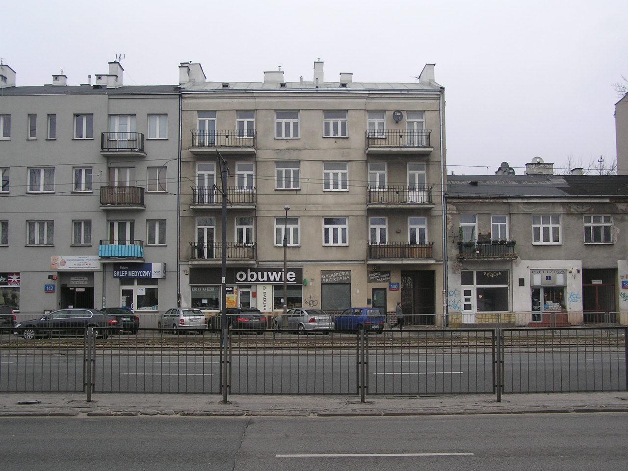 Kamienicy przy ulicy Grochowskiej 140 na Grochowie