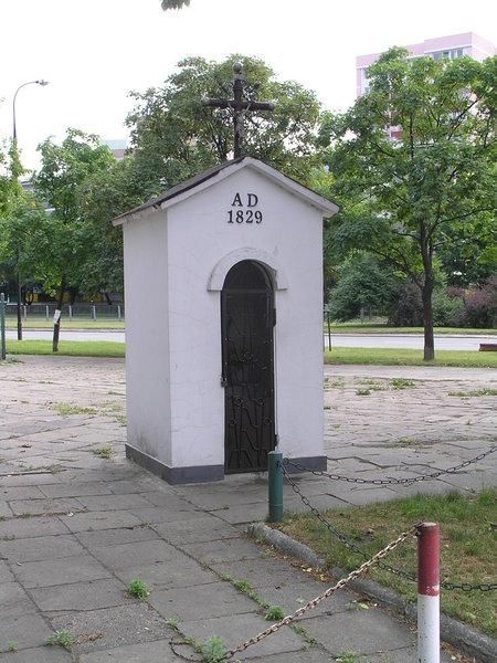 Kapliczka - Międzyborska przy Alei Stanów Zjednoczonych