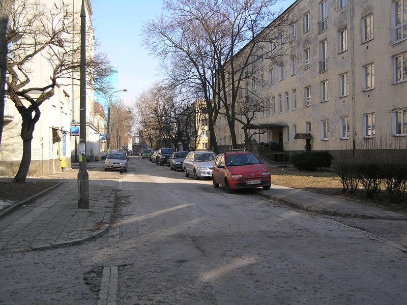 Ulica Sygietyńskiego