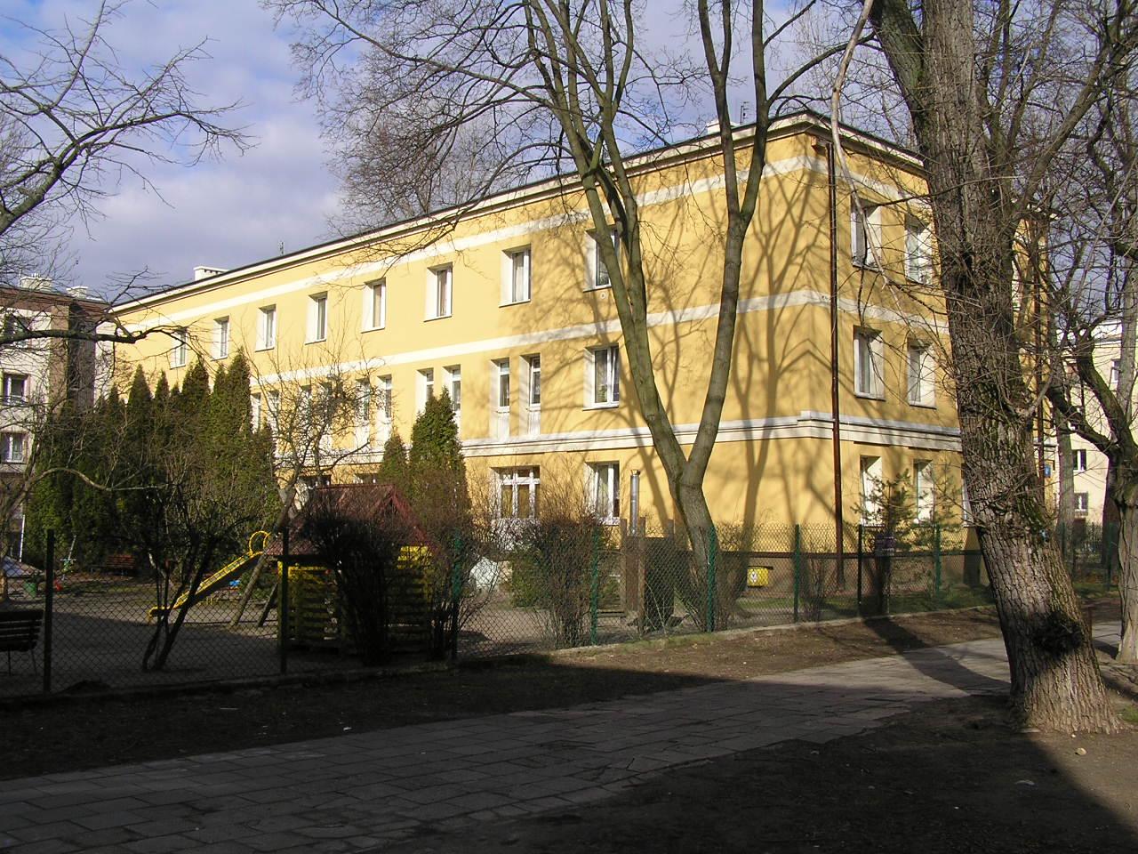 Budynek przy ulicy Tadeusza Sygietyńskiego 4A na Grochowie