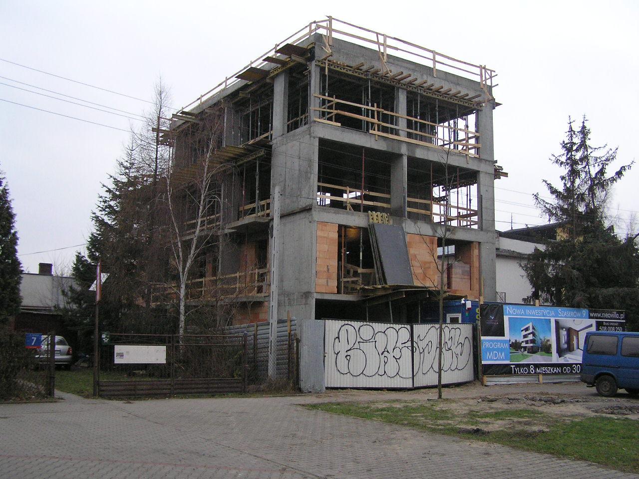 Szaserów 9 - kameralna inwestycja na Grochowie
