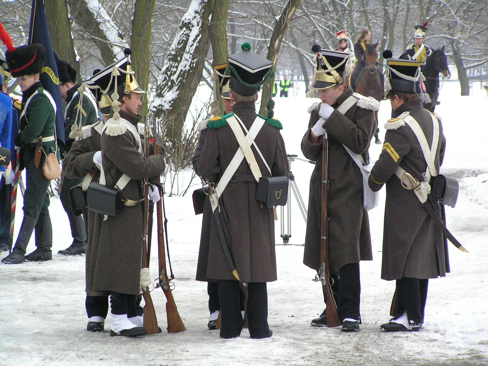 Rekonstrukcja Bitwy Grochowskiej, która odbyła się przed 174 laty