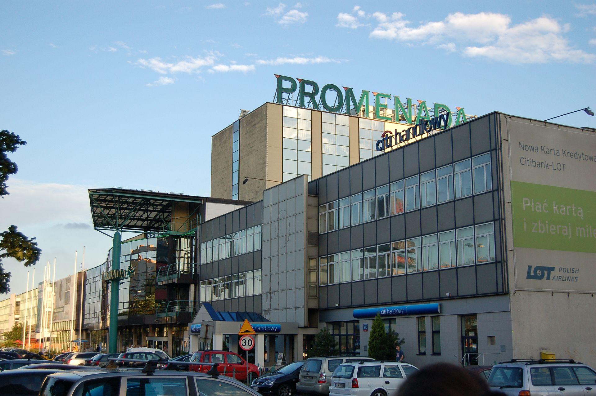 Atrium European kupiło centrum handlowe Promenada