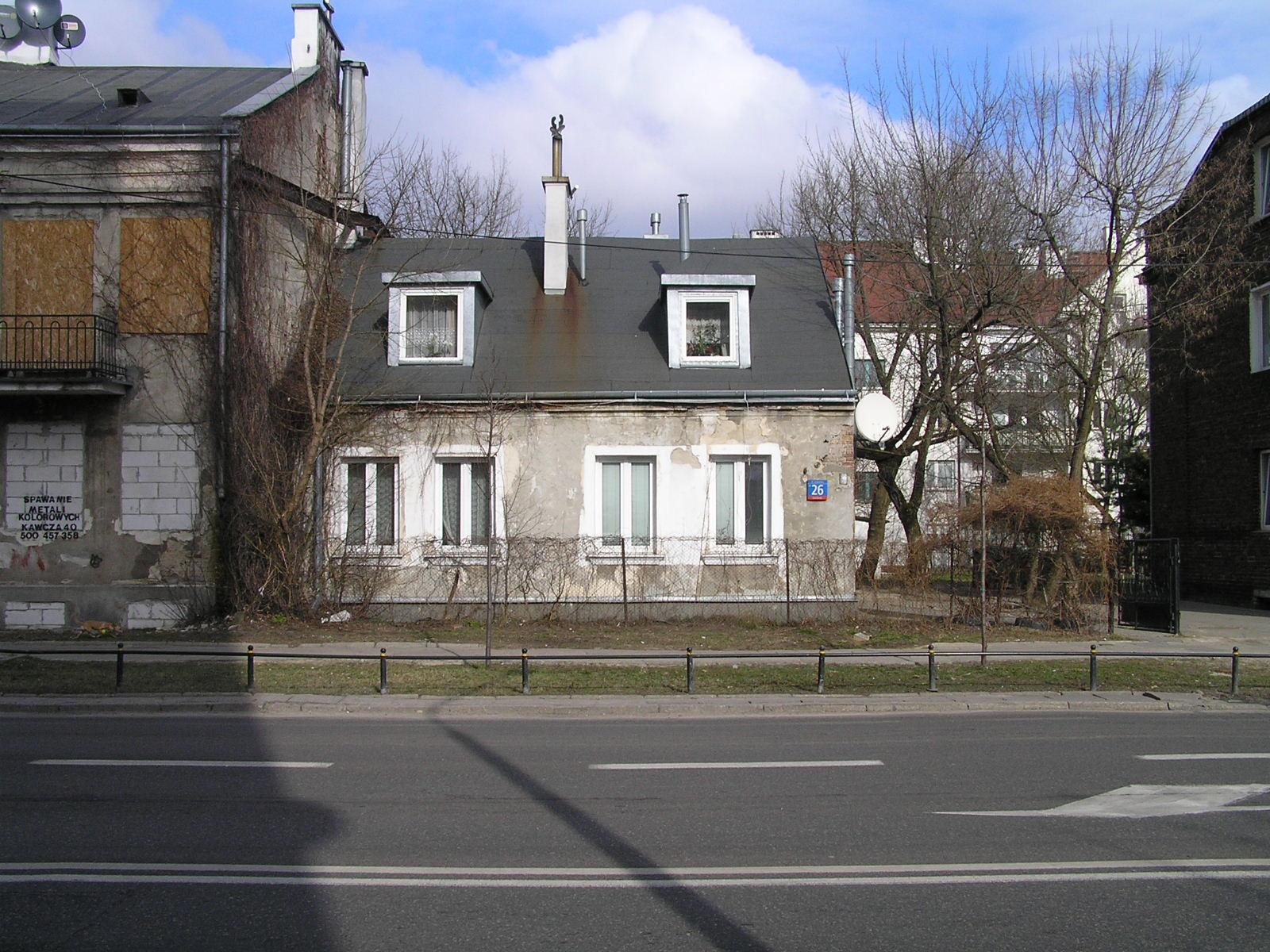 Dom przy ulicy Łukowskiej 26 na Grochowie
