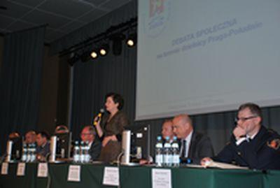 Debata poświęcona bezpieczeństwiu na Pradze Południe