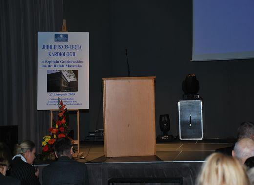 Jubileusz 35-lecia Kardiologii w Szpitalu Grochowskim – w hołdzie Profesorowi Leszkowi Ceremużyńskiemu