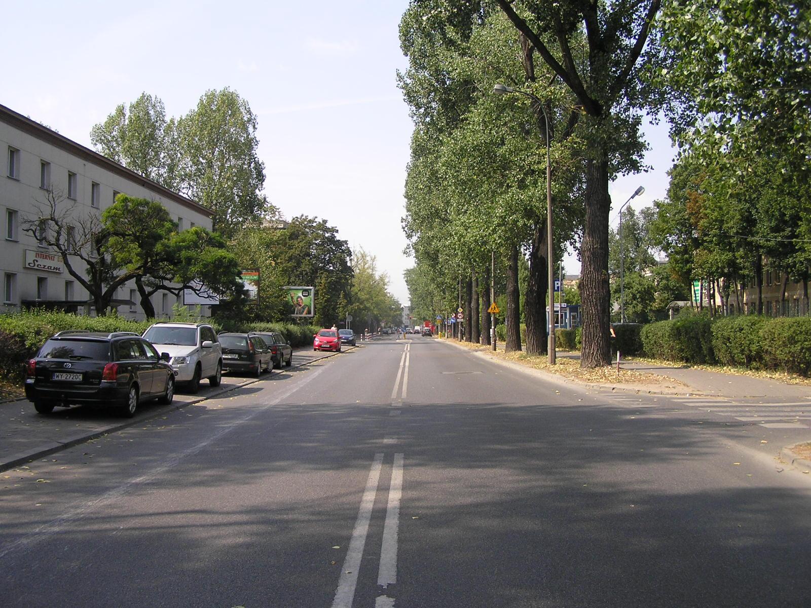Ulica Grenadierów