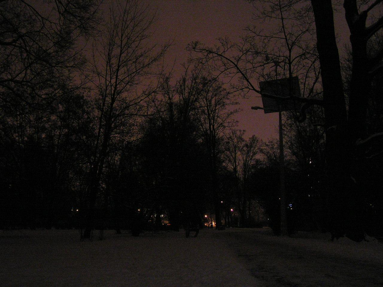 Ciemności wróciły do Parku