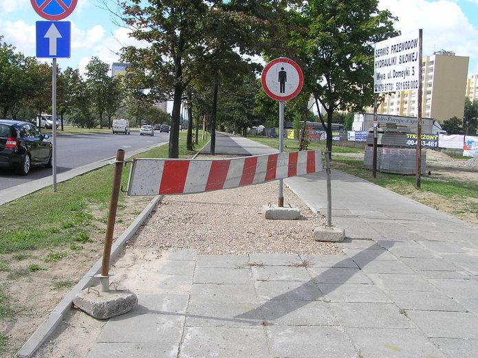Nowy odcinek drogi dla rowerów na Ostrobramskiej