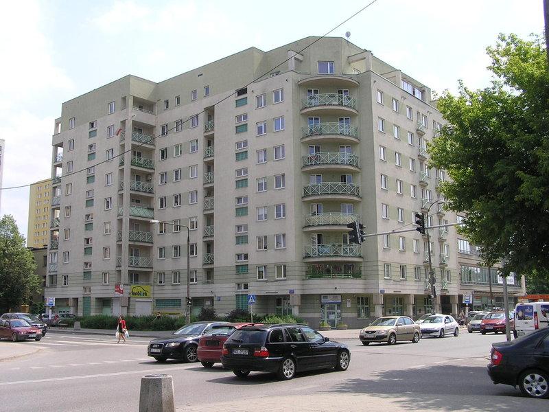 Budynek przy ulicy Łukowksiej 27 na Grochowie