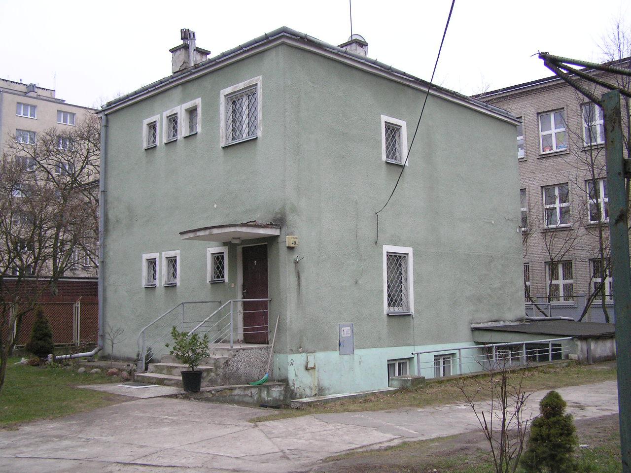 Budynek przy ulicy Siennickiej 40A
