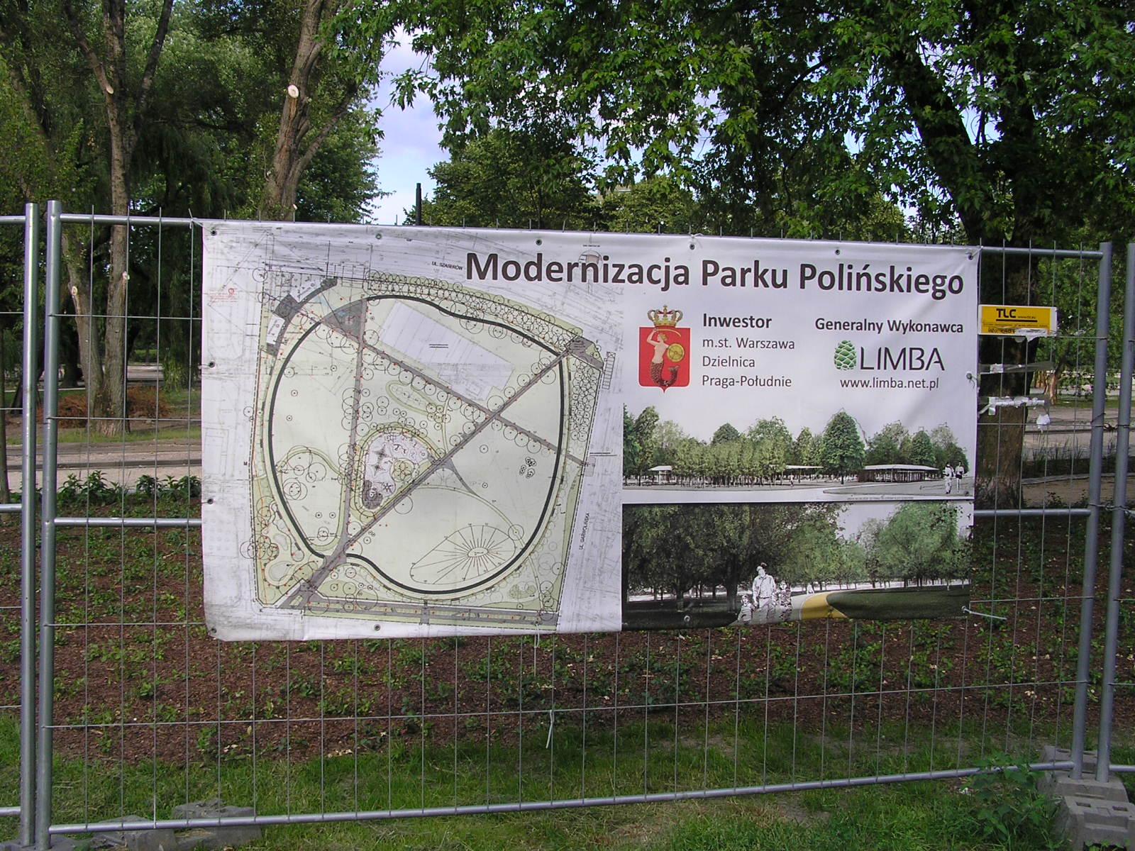 Park Polińskiego zamykany na noc. To ochrona przed dewastacją