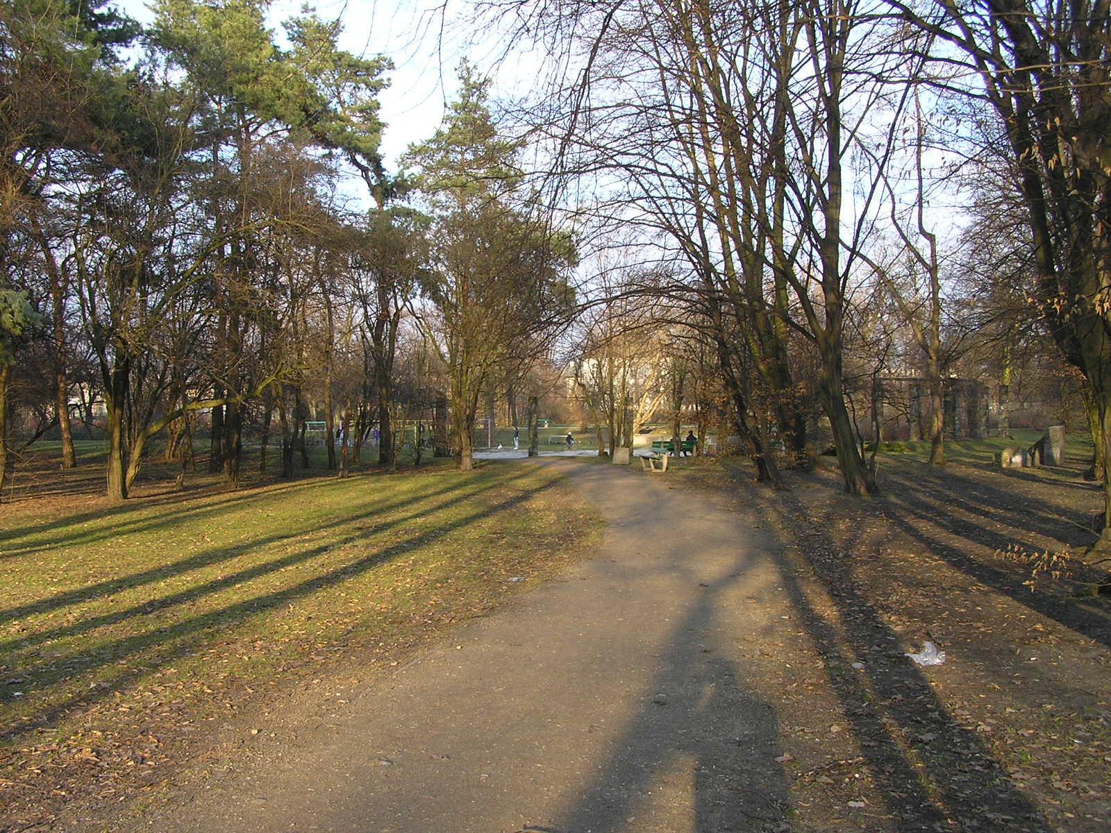 Radni z nadaniem nazwy parkowi nazwy