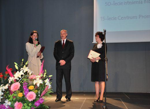 50-lecie istnienia Bibliotek oraz 15-lecie Centrum Promocji Kultury