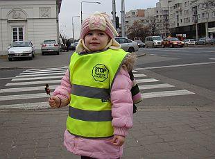 Przedszkolaki bezpieczniejsze na drodze