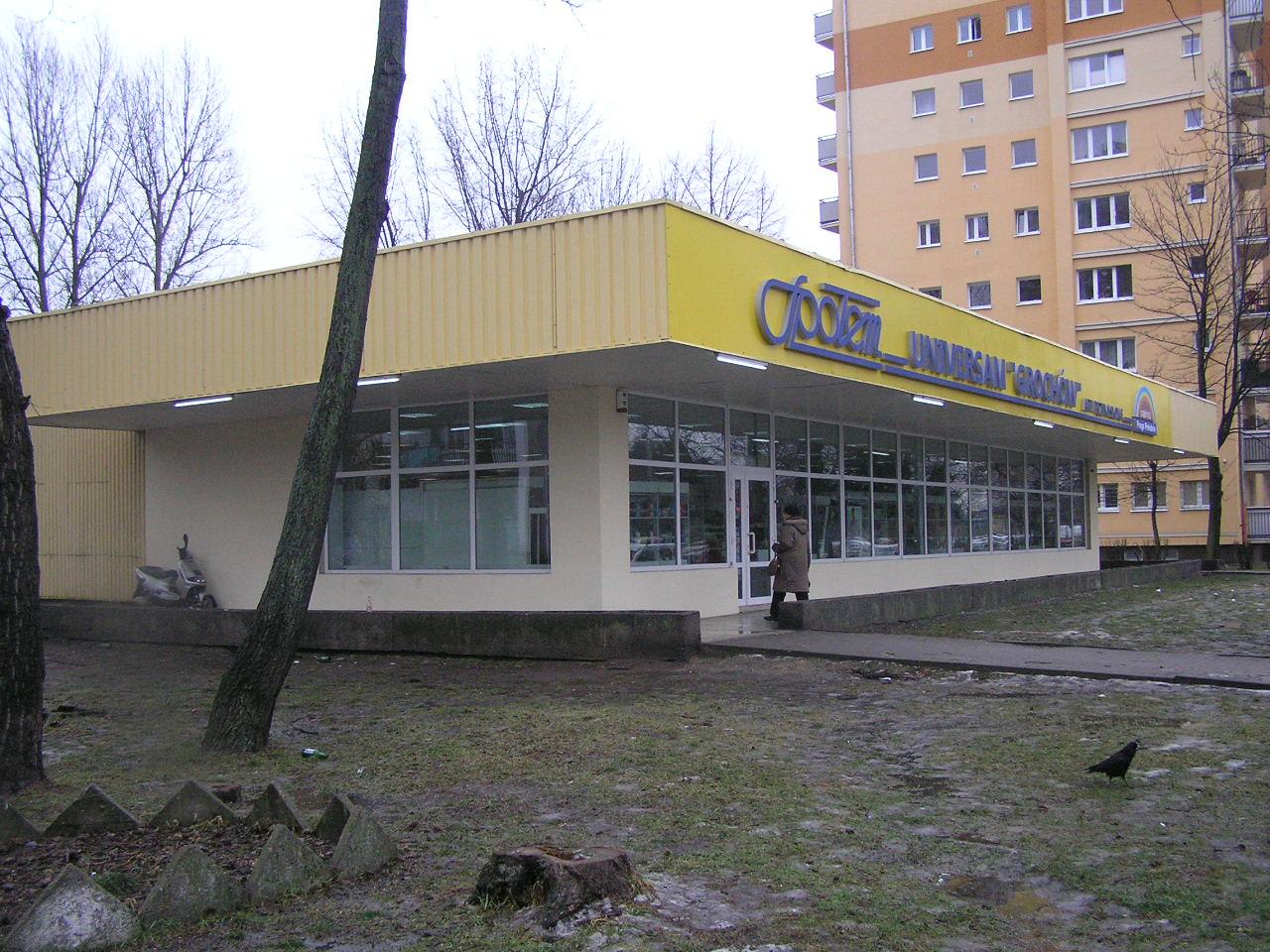 Pawilon przy ulicy Suchodolskiej 2 na Grochowie