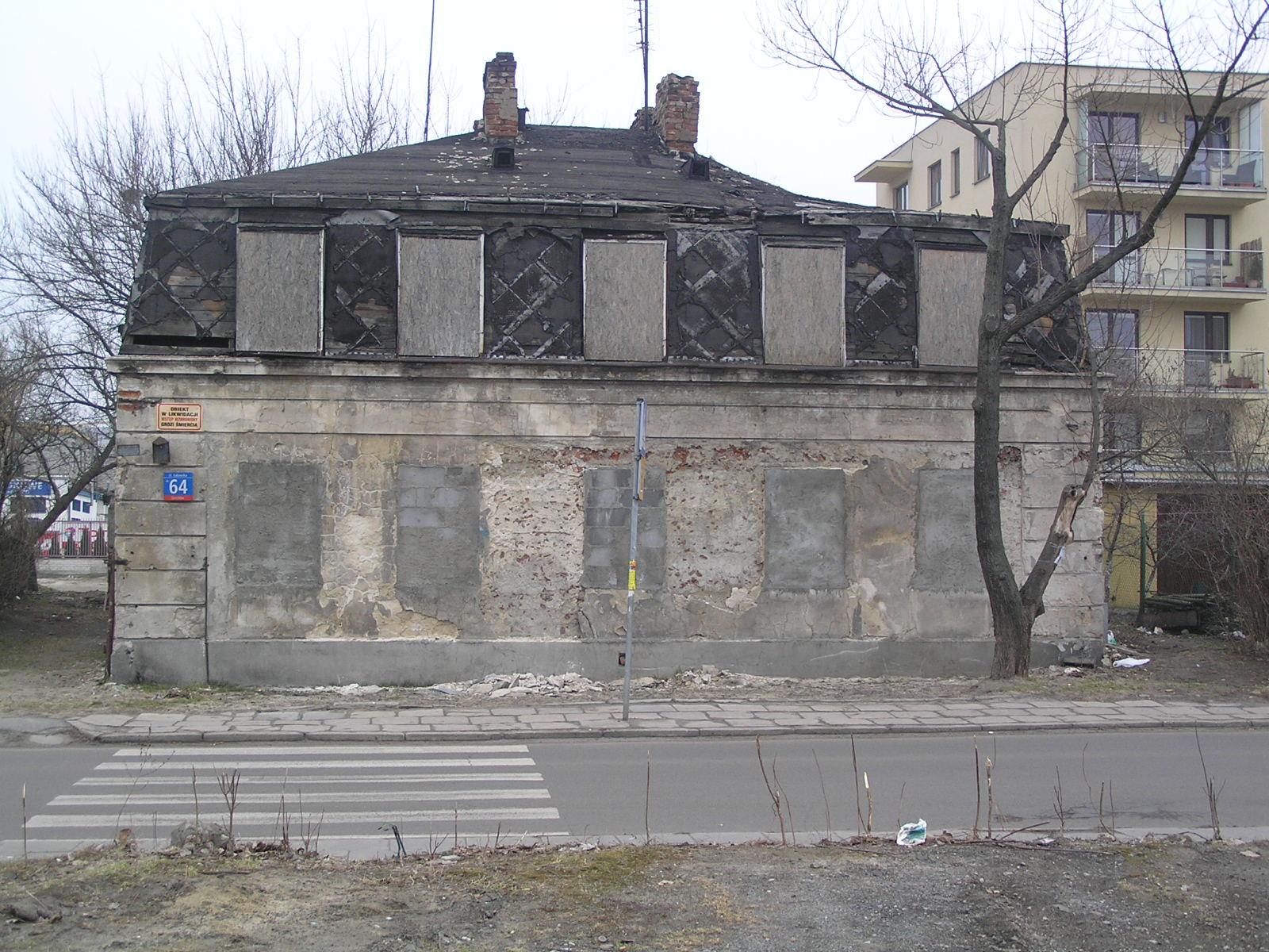Dom przy ulicy Łukowskiej 64 na Grochowie