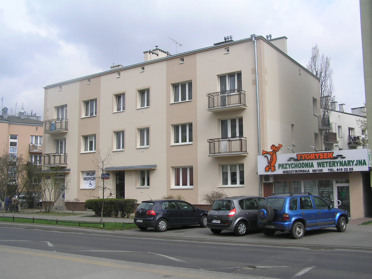 Międzyborska 98/100