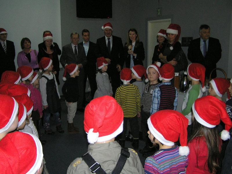 Mikołajki dla przedszkolaków w Urzędzie Dzielnicy