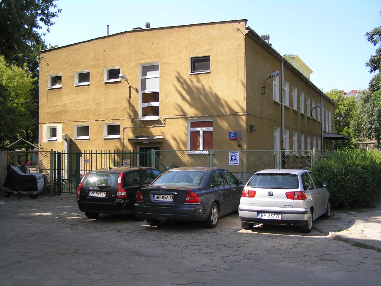 Budynek Przedszkola przy ulicy Siennickiej 19B na Grochowie