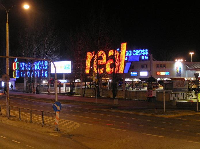 Pierwszy Auchan na Grochowie