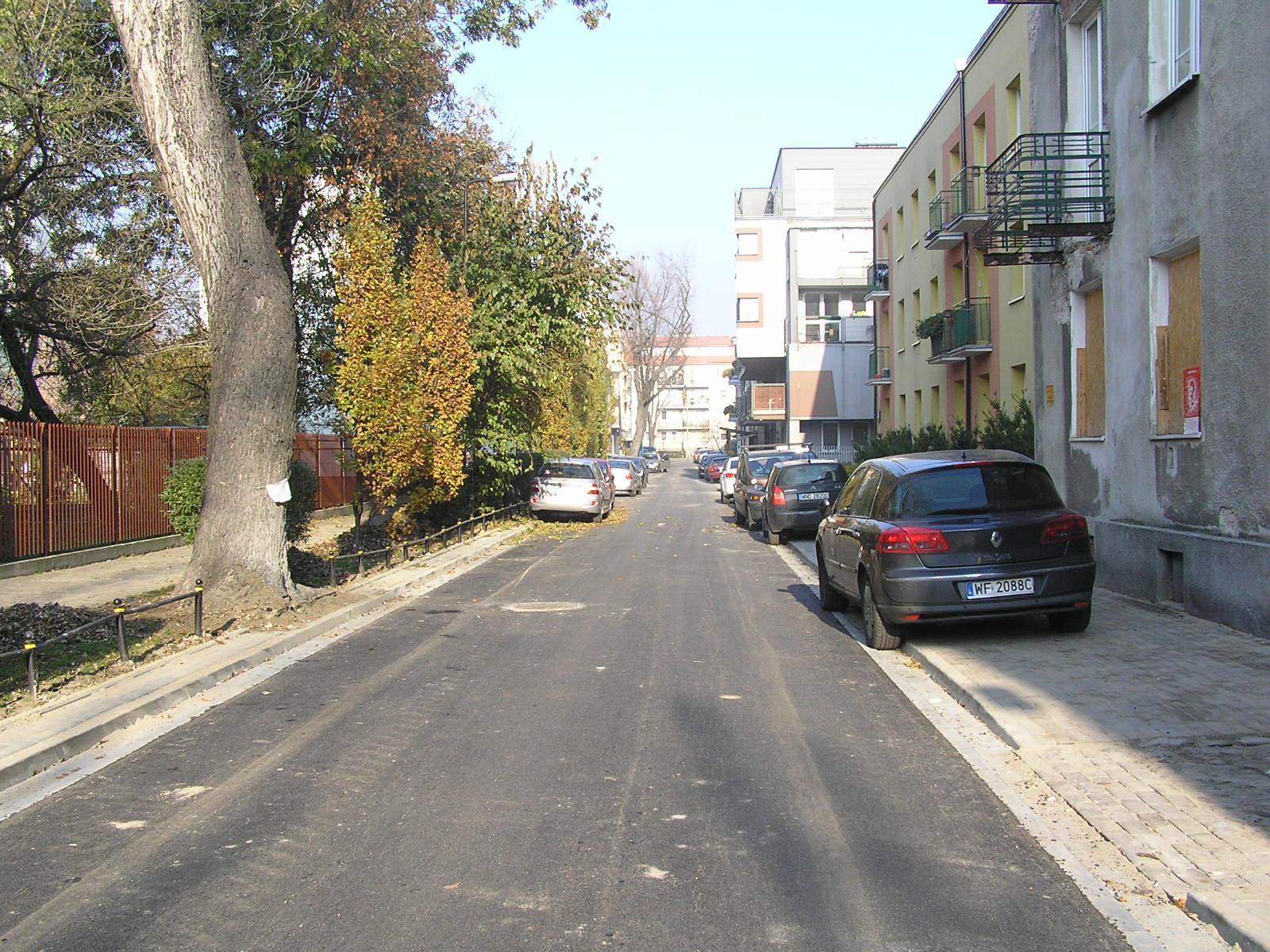 Szybki remont ulicy Pułtuskiej