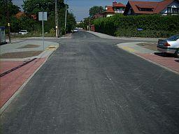 Nowa nawierzchnia ulicy Bakaliowej