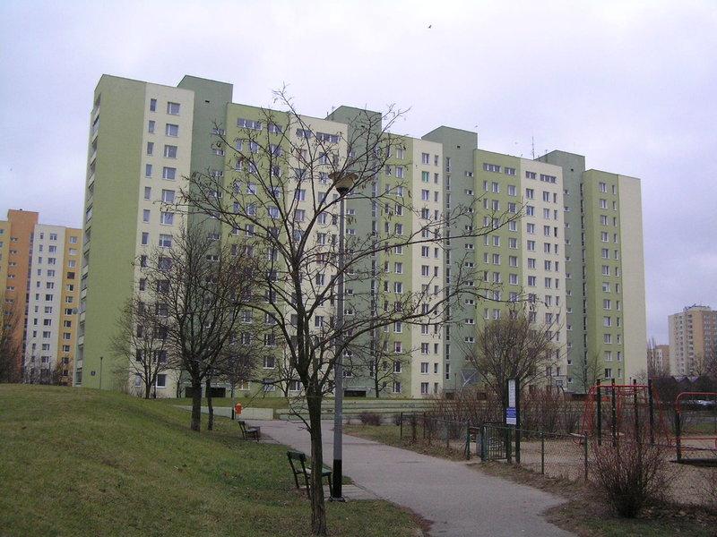 Blok przy ulicy Łukowskiej 6 na Grochowie